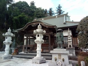 「越生七福神巡り」恵比寿(法恩寺)