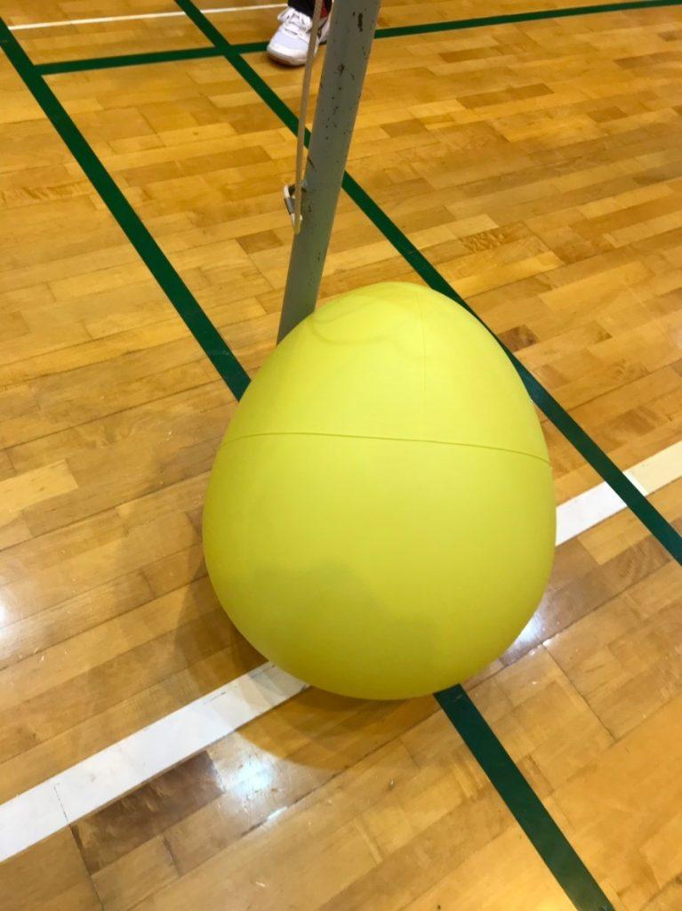 おにぎり状のボールは意外と重い!