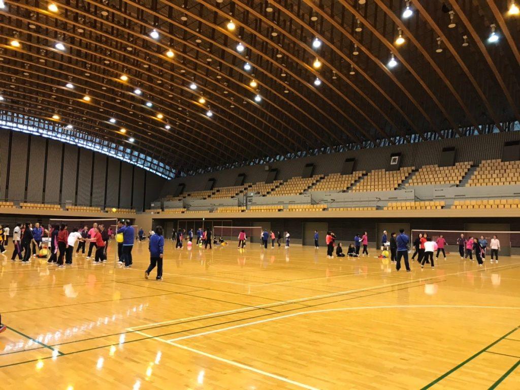 所沢市民体育館メインアリーナ